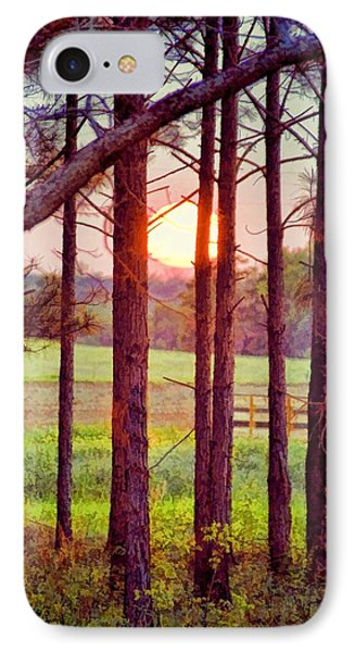IPhone Case featuring the photograph The Sun Pines Away by Jan Amiss Photography