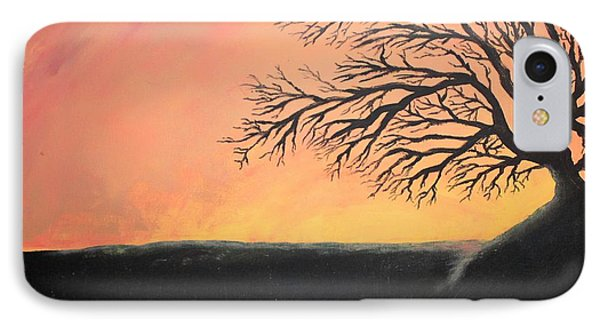 The Sun Was Set IPhone Case by Antonio Romero