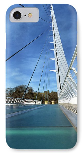 IPhone Case featuring the photograph The Sundial Bridge by James Eddy