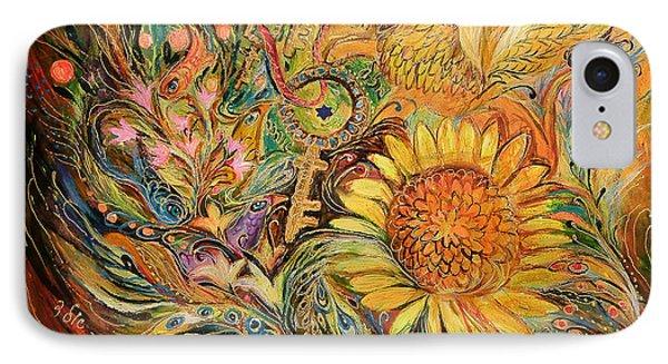 The Sunflower Phone Case by Elena Kotliarker