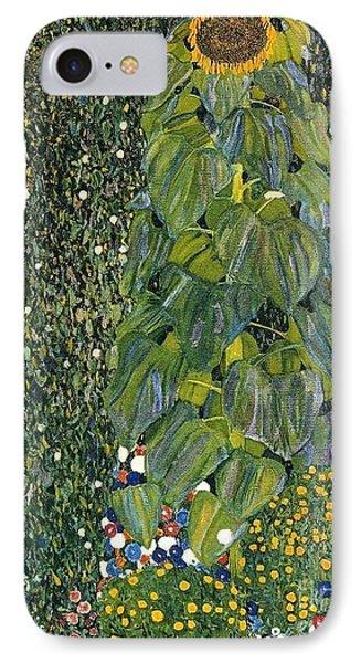 The Sunflower IPhone Case by Klimt