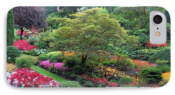 The Sunken Garden At Dusk IPhone Case by Betty Buller Whitehead