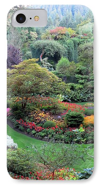 The Sunken Garden IPhone Case by Betty Buller Whitehead