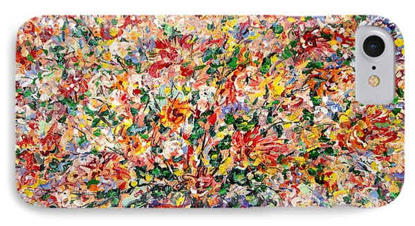 The Sunlight Flowers IPhone Case