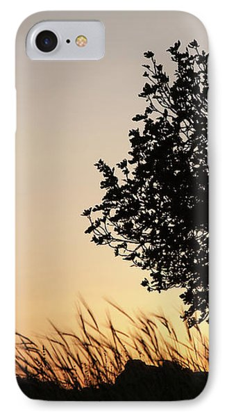 IPhone Case featuring the photograph Sunset On The Hill by Yoel Koskas