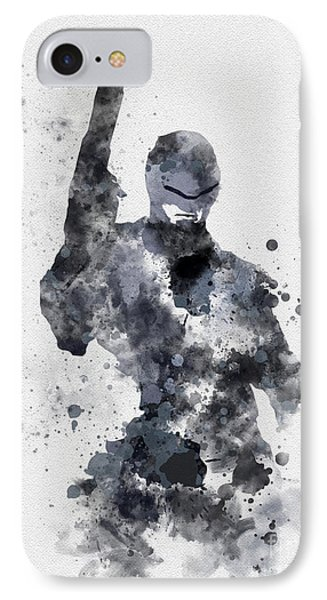 The Superhuman Cyborg IPhone Case by Rebecca Jenkins