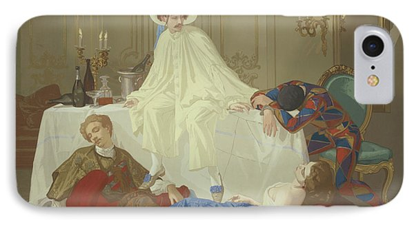 The Supper After The Masked Ball IPhone Case by Thomas Couture