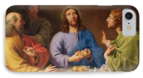 The Supper At Emmaus IPhone Case by Philippe de Champaigne