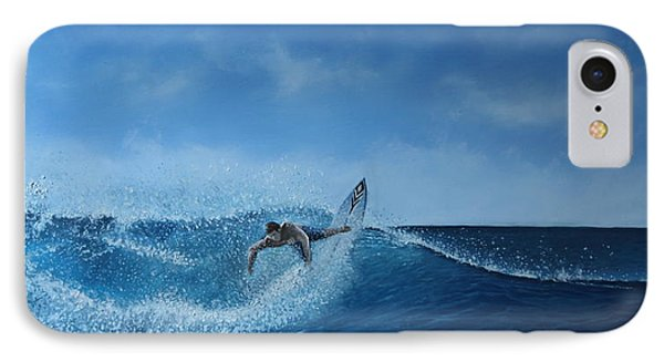 The Surfer Phone Case by Paul Newcastle