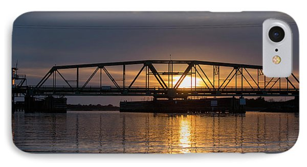 The Swing Bridge IPhone Case by Betsy Knapp