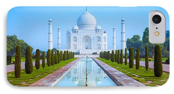 The Taj Mahal Of India IPhone Case