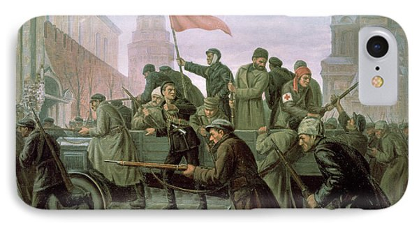 The Taking Of The Moscow Kremlin In 1917 IPhone Case