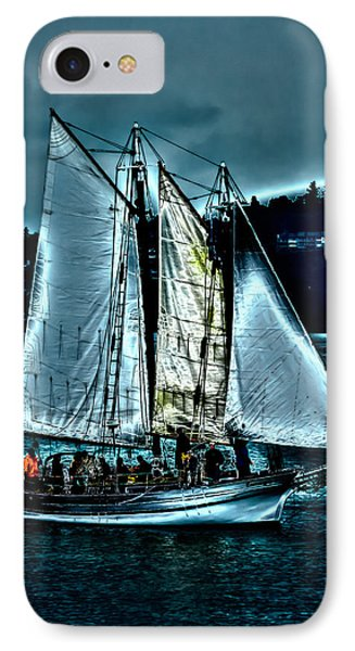 The Tall Ship Lavengro IPhone Case