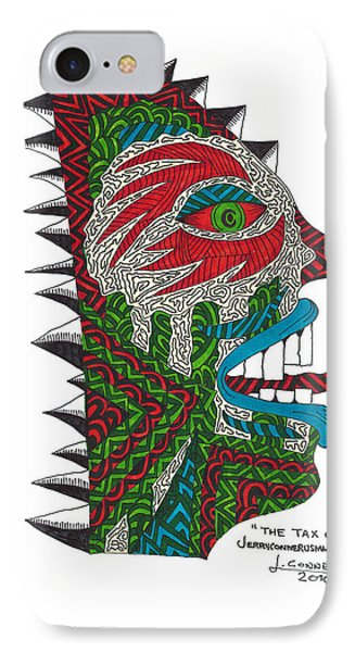 The Tax Collector IPhone Case by Jerry Conner