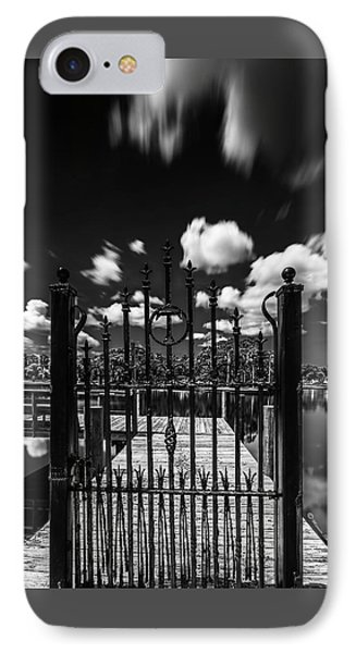 The Tee Gate  IPhone Case by Marvin Spates