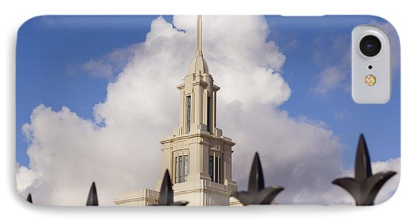 The Temple And Clouds IPhone Case