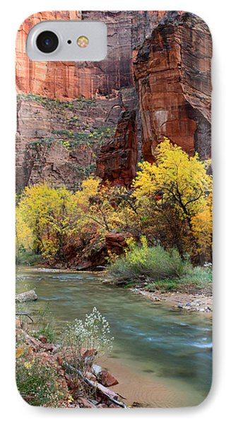 The Temple Of Sinawava In Zion National Park Phone Case by Pierre Leclerc Photography