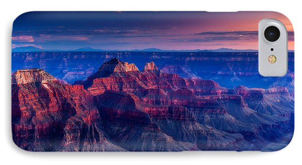 The Temples And Bright Angel Canyon IPhone Case by Dan Holmes