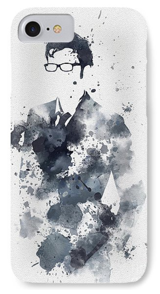 The Tenth Doctor IPhone Case by Rebecca Jenkins