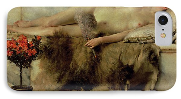The Tepidarium IPhone Case by Sir Lawrence Alma-Tadema