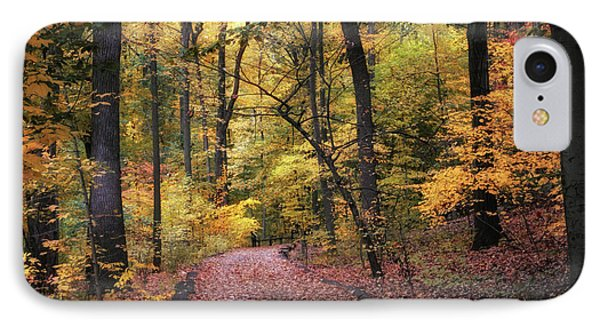 IPhone Case featuring the photograph The Thain Forest by Jessica Jenney