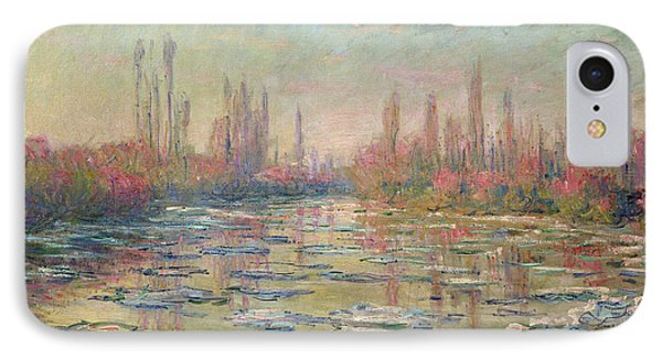 The Thaw On The Seine Phone Case by Claude Monet