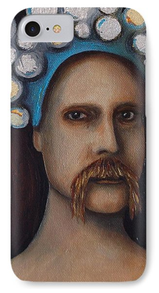 The Thinker Phone Case by Leah Saulnier The Painting Maniac
