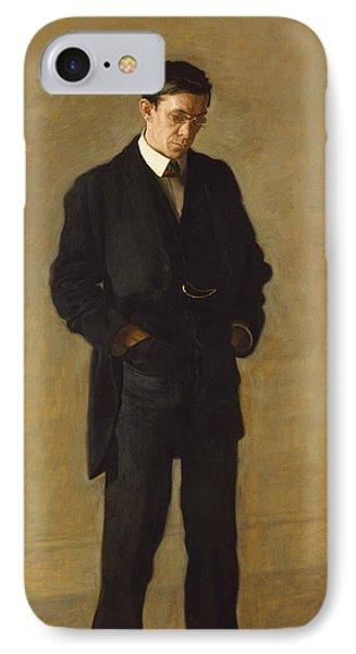 The Thinker, Portrait Of Louis N. Kenton IPhone Case by Thomas Eakins