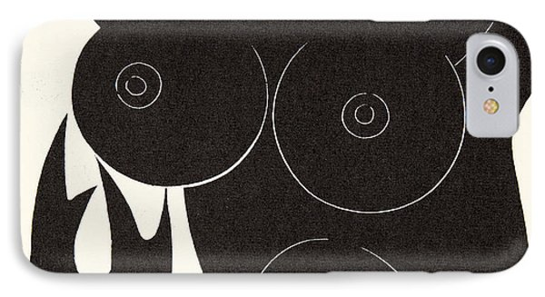 The Thorn In The Flesh IPhone Case by Eric Gill