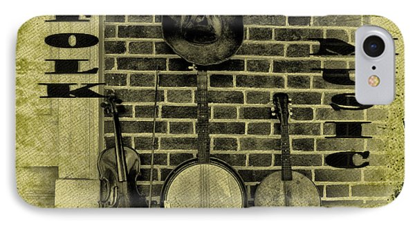 The Three Amigos - Folk Music Phone Case by Bill Cannon