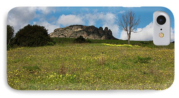 IPhone Case featuring the photograph The Three Finger Mountain by Bruno Spagnolo