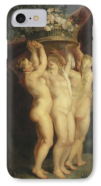 The Three Graces IPhone Case by Rubens
