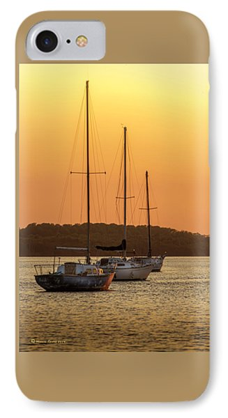 The Three Mast IPhone Case by Marvin Spates
