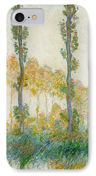 The Three Trees Phone Case by Claude Monet