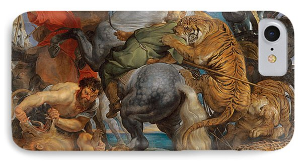 The Tiger Hunt IPhone Case