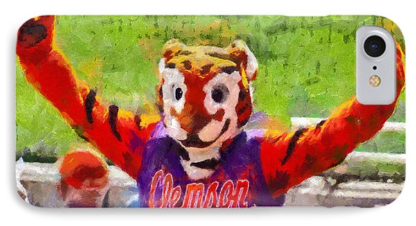 The Tiger Phone Case by Lynne Jenkins