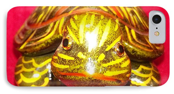 The Tiger Turtle IPhone Case by Mike Russell