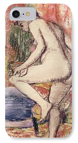 The Toilet IPhone Case by Edgar Degas