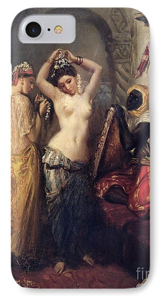 The Toilet In The Seraglio IPhone Case by Theodore Chasseriau