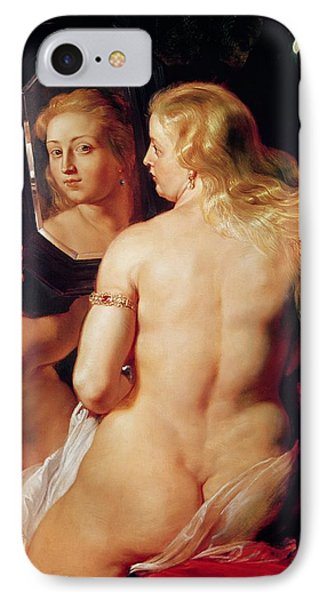 The Toilet Of Venus IPhone Case by Peter Paul Rubens