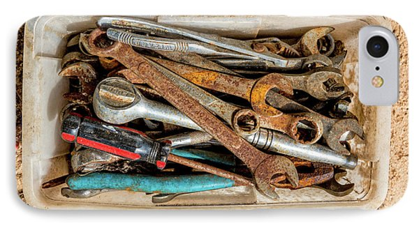 IPhone Case featuring the photograph The Toolbox by Christopher Holmes