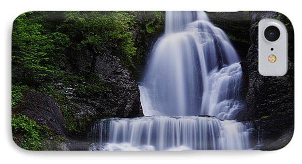 The Top Of Dingmans Falls IPhone Case