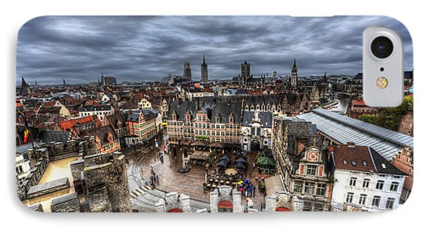IPhone Case featuring the photograph The Top Of Ghent by Shawn Everhart