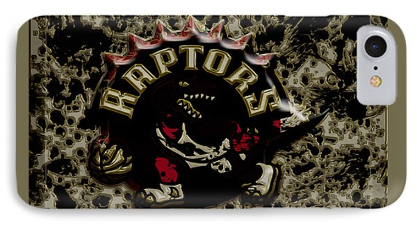 The Toronto Raptors 1a IPhone Case by Brian Reaves