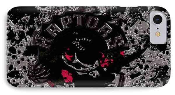 The Toronto Raptors 1b IPhone Case by Brian Reaves