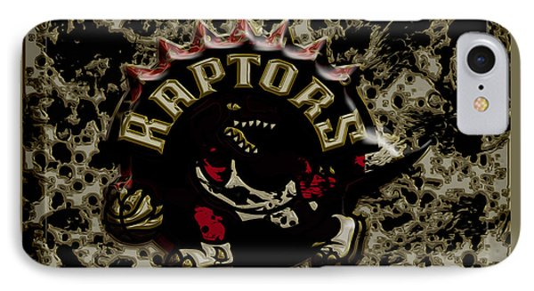 The Toronto Raptors 1c IPhone Case by Brian Reaves