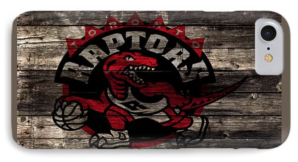 The Toronto Raptors 2b IPhone Case by Brian Reaves