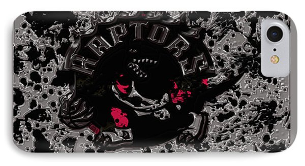 The Toronto Raptors IPhone Case by Brian Reaves