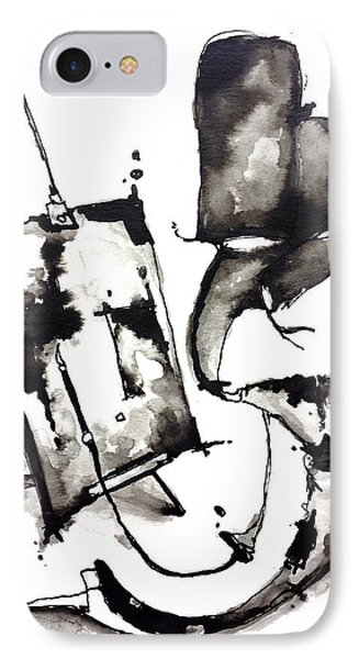 The Tortured Painter IPhone Case by Nick Watts