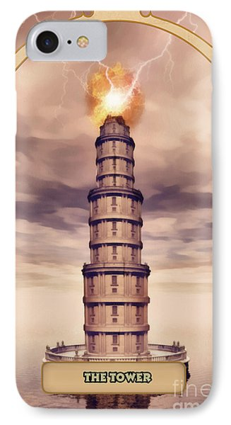 The Tower IPhone Case by John Edwards